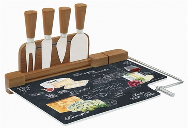 Komplekt juustu lõikamiseks 5-osaline