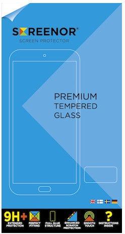 Screenor Premium Tempered Glass For Apple iPhone 5/5s/5C/SE