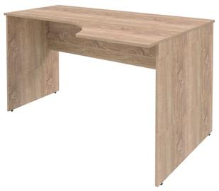 Skyland Simple Work Desk SET140-1R Right Light Sonoma Oak