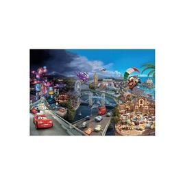 Fototapetai Komar Disney Cars World 8-400, 368 x 254 cm
