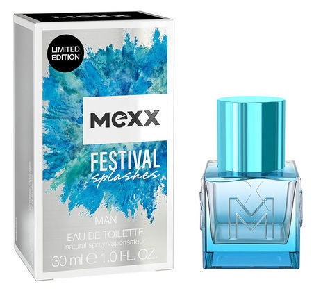 Mexx Fest Splashes Men 30ml EDT Limited Edition