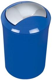 Spirella Sydney Waste Bin 5l Blue
