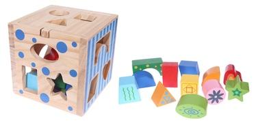 Klucīši EcoToys Wooden Cube Sorter 2047
