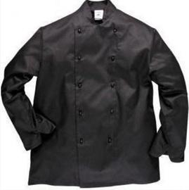Viesnīcu Tekstils Chef Jacket Somerset S Black