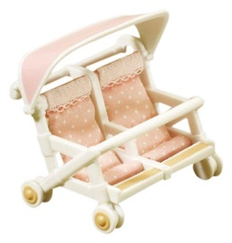Фигурка-игрушка Epoch Sylvanian Families Double Pushchair 2920