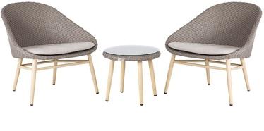 Комплект уличной мебели Home4you Cali 21178 Grey, 2 места