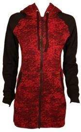 Bars Womens Sport Jacket Red/Black 150 XL
