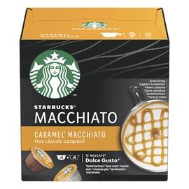 Kavos kapsulės Starbucks Caramel Macchiato Dolce Gusto, 127.8 g
