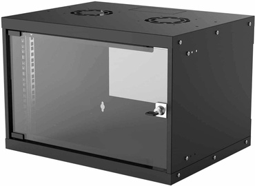 "Intellinet 19"" Basic Wallmount Cabinet 6U 400mm Black 714143"