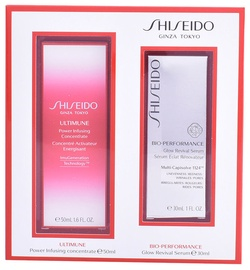 Shiseido Bio Performance Glow Revival Serum 30ml + 50ml Power Infusing Concentrate