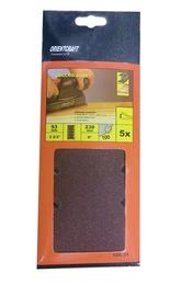 Keturkampis šlifavimo lapelis Vagner SDH 108.31, Nr. 120, 230x93 mm, 5 vnt.