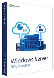 Microsoft Windows Server Essentials 2016 32/64-bit DVD 2-CPU OEM ENG