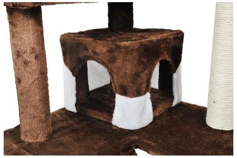 Когтеточка для кота Vangaloo, 490x490x1200 мм
