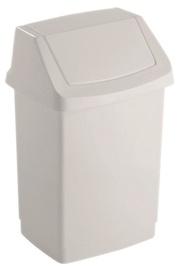 Curver Click-it Waste Bin 50L White