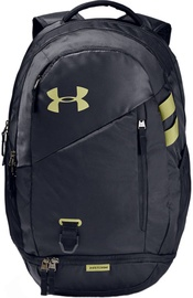 Under Armour Hustle 4.0 Backpack 1342651-005 Black/Green