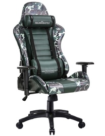 Warrior Chairs Fields Of Battle Gaming Chair Forest Camouflage