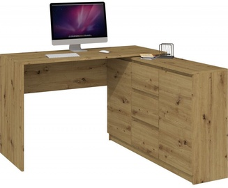 Top E Shop Desk With Chest Of Drawers 2D3S Artisan