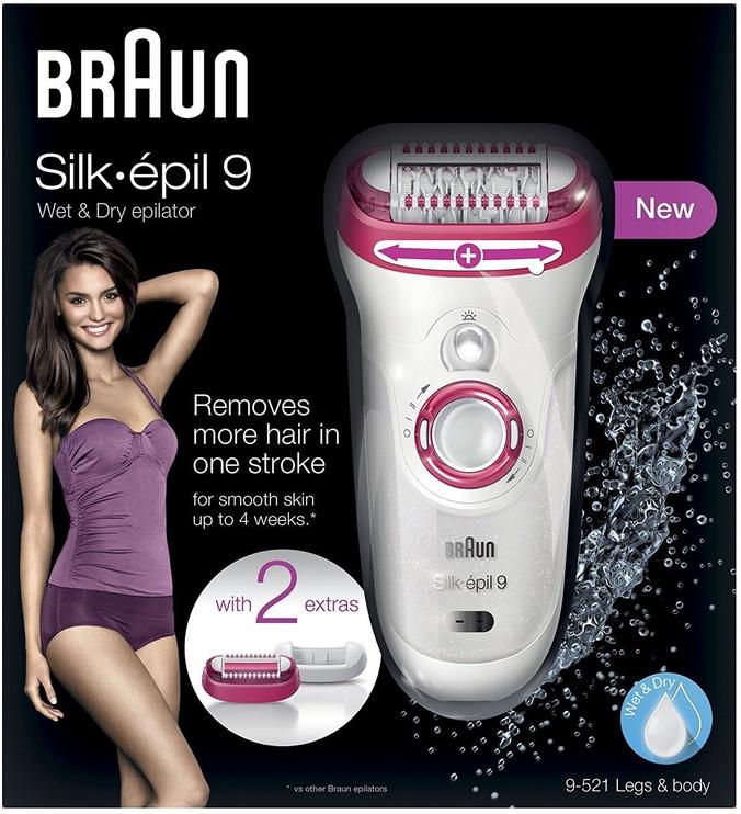 Epilators Braun Silk-Epil 9 - 9521 Wet&Dry