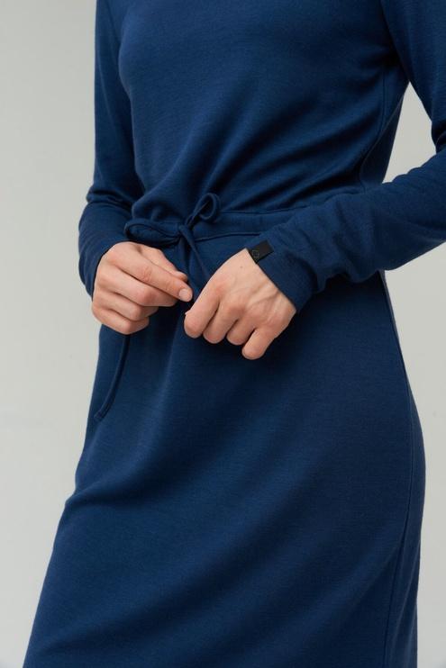 Audimas Merino Bamboo Blend Dress Blue L