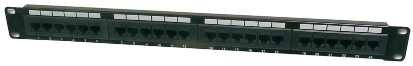 Lülitusseade Digitus 19'' CAT6 Patch Panel 24-Port UTP DN-91624U