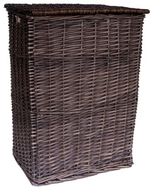 Home4you Max Basket 45x34xH59cm Dark Brown