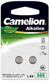 Camelion AG6 Alkaline Buttoncell Battery x2