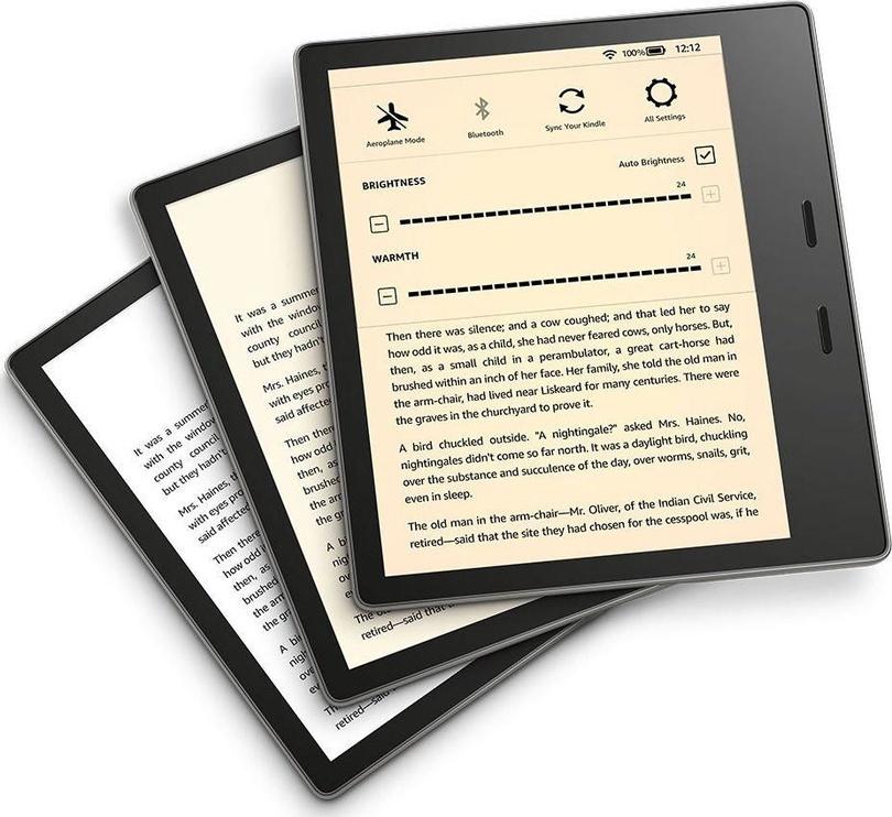 Elektroninė knygų skaityklė Amazon Kindle Oasis 3 Gold, 32 GB