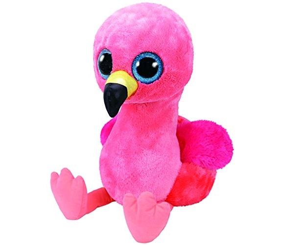 Pliušinis flamingas TY Beanie Boos 36892, 40 cm, nuo 3 m.