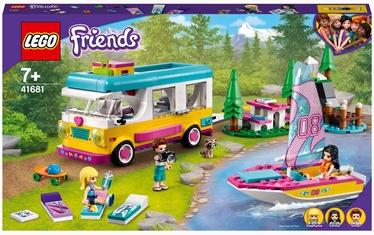Конструктор LEGO Friends Лесной дом на колесах и парусная лодка 41681, 487 шт.