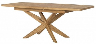 Pusdienu galds Szynaka Meble Velle 39, 1600x950x770 mm