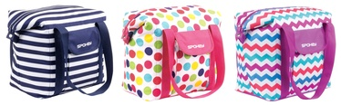 Spokey San Remo Beach Bag White Purple