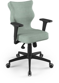 Entelo Perto Black Office Chair DC20 Mint