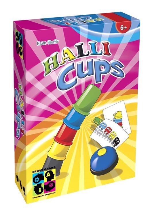 Stalo žaidimas Brain Games Halli Cups