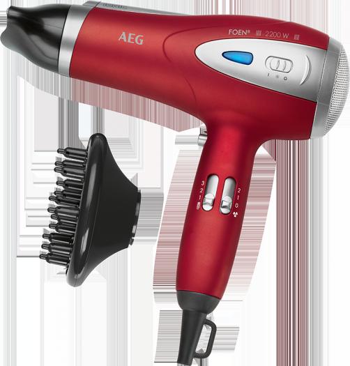 Plaukų džiovintuvas AEG HTD 5584 raudonas, 2200W