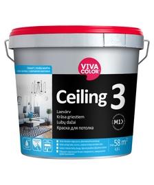 Dažai Vivacolor Ceiling 3 AP 4,8l