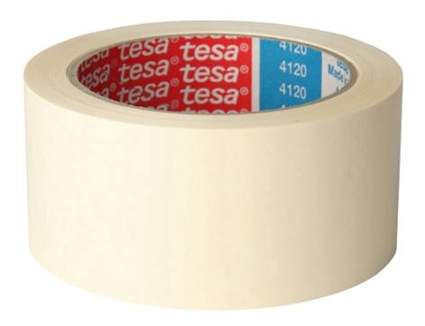 LĪMLENTE BALTA 66MX38MM (TESA)
