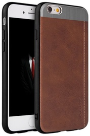 Qult Luxury Slate Back Case For Samsung Galaxy S8 Plus Brown