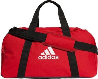 Rokassoma Adidas Tiro Primegreen Duffel Bag S GH7275, melna/sarkana
