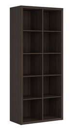 Black Red White Nepo Shelf Wenge