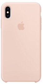 Apple Silicone Back Case For Apple iPhone XS Max Pink Sand