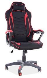 Офисный стул Signal Meble Zenvo, черный/красный