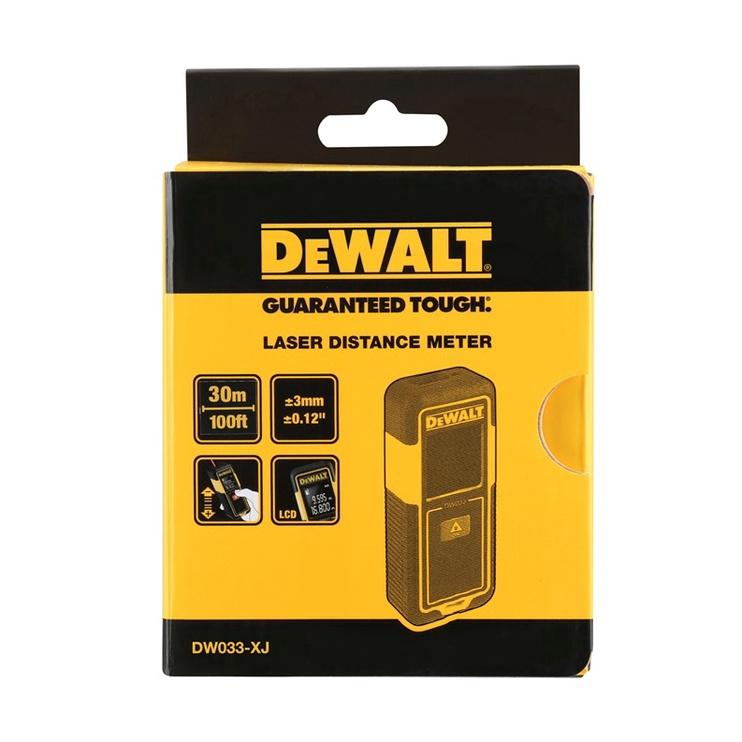 Kaugusmõõtja DEWALT DW033 30M