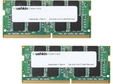 Operatīvā atmiņa (RAM) Mushkin Essentials MES4S240HF8GX2 DDR4 (SO-DIMM) 16 GB