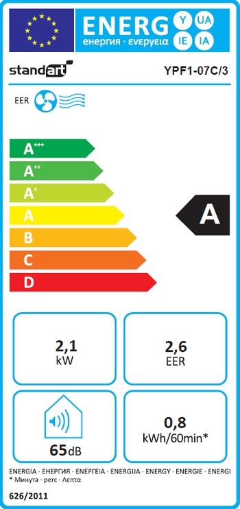 Gaisa kondicionieris Standart YPF1-07C/3/3