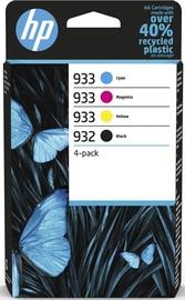 Кассета для принтера HP 932, черный/желтый/голубой/фуксия (magenta)