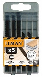 Leman Jigsaw Blade Set 8050.05 5pcs