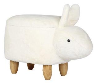 Signal Meble Pouf Rabbit White