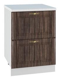 DSV Imperia SK2 600 Kitchen Bottom Cabinet Walnut