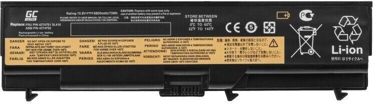 Green Cell Lenovo T410 11.1V 6800mAh