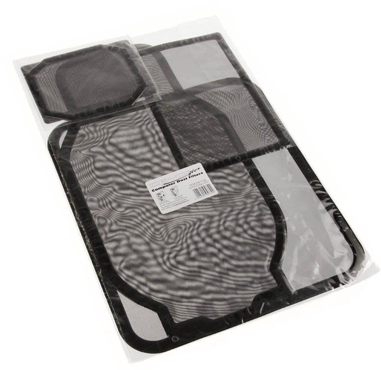 DEMCiflex Dust Filter Black DF0158 Set For Corsair 600T